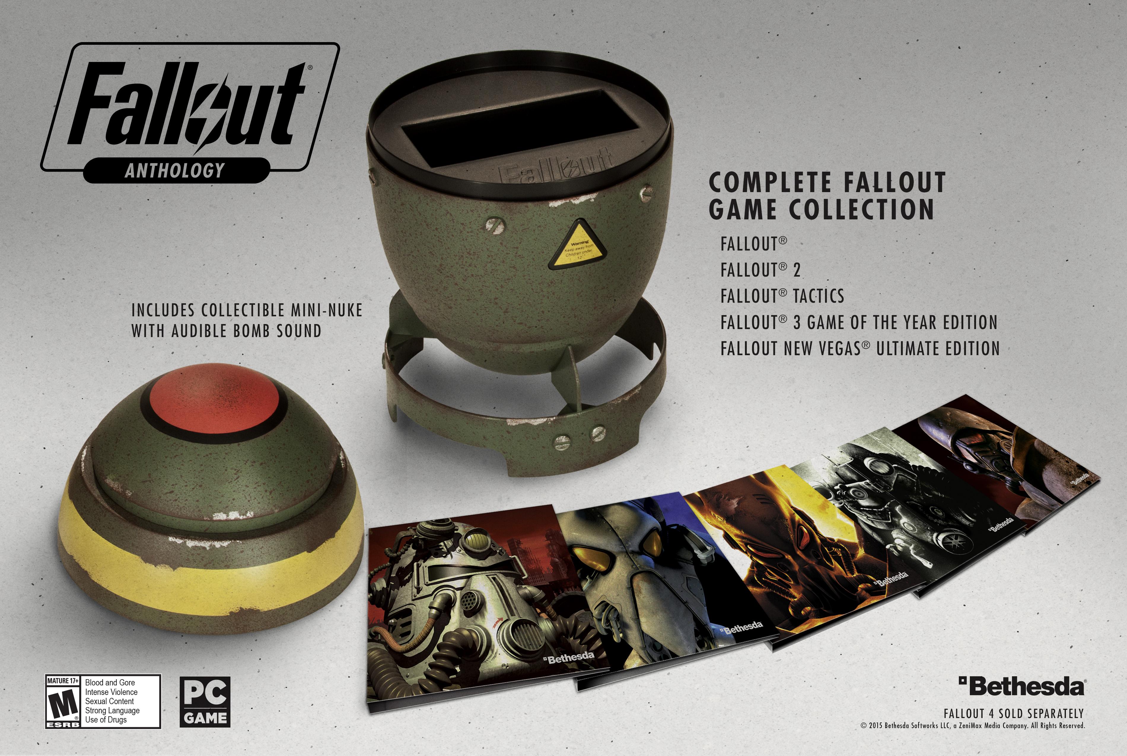 Состоялся анонс Fallout Anthology