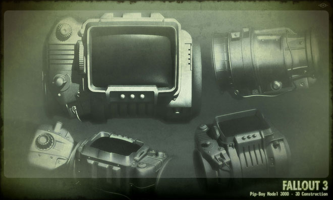 Pip Boy Sketches