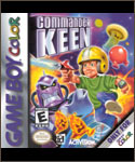 Commander Keen -- GameBoy Color boxshot