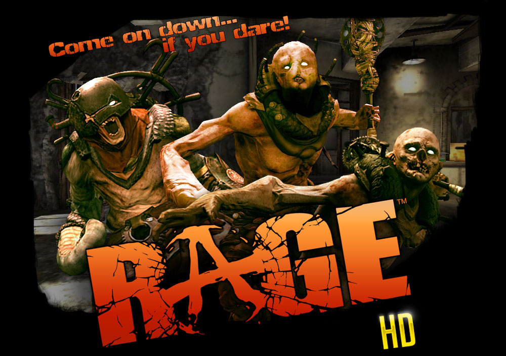 Rage HD for the iPhone, iPod and iPad